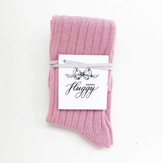 Гольфы пыльно-розовые для девочки